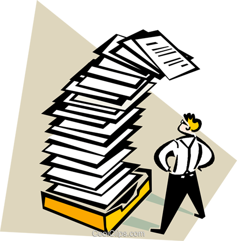 Paper work free download. Working clipart amount