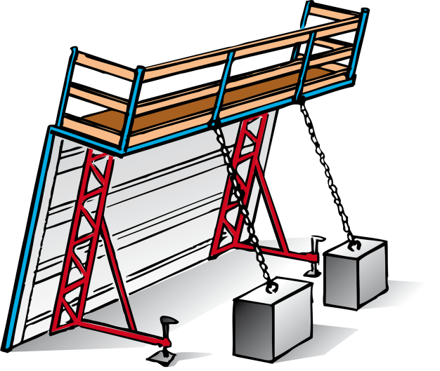 To think about during. Working clipart building work