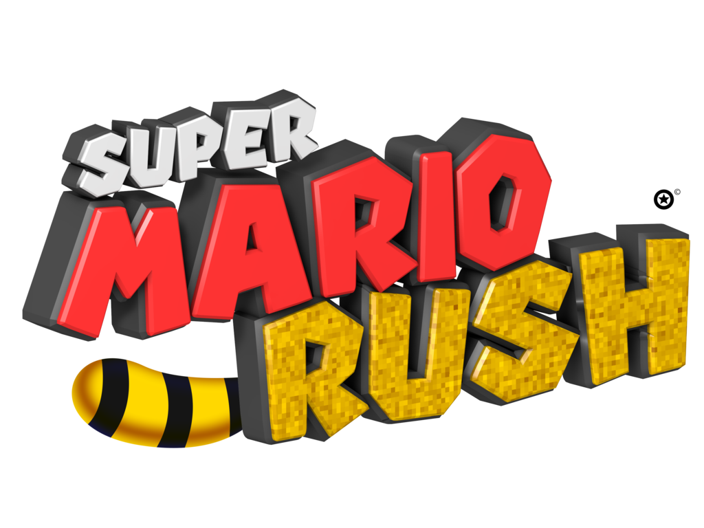 Working clipart don t rush. Super mario logo by
