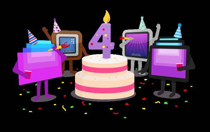Th birthday screens edovia. Working clipart happy anniversary
