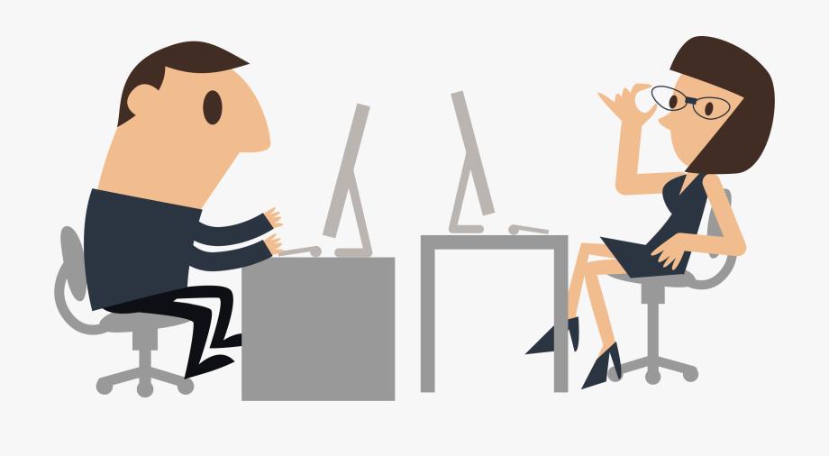 Working clipart job. Cartoon clip art people