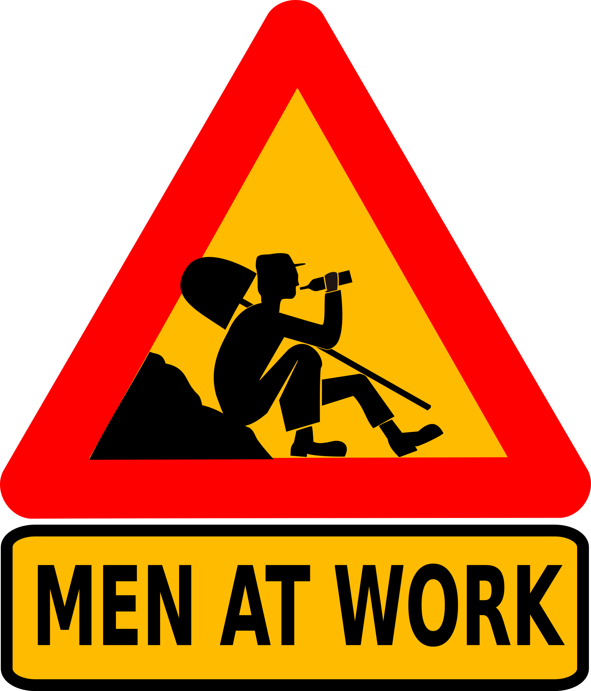 Men at work big. Working clipart other clipart
