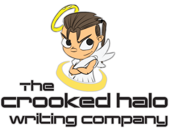 The crooked halo academic. Working clipart professional writing