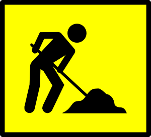 Working clipart public work. Road clip art at