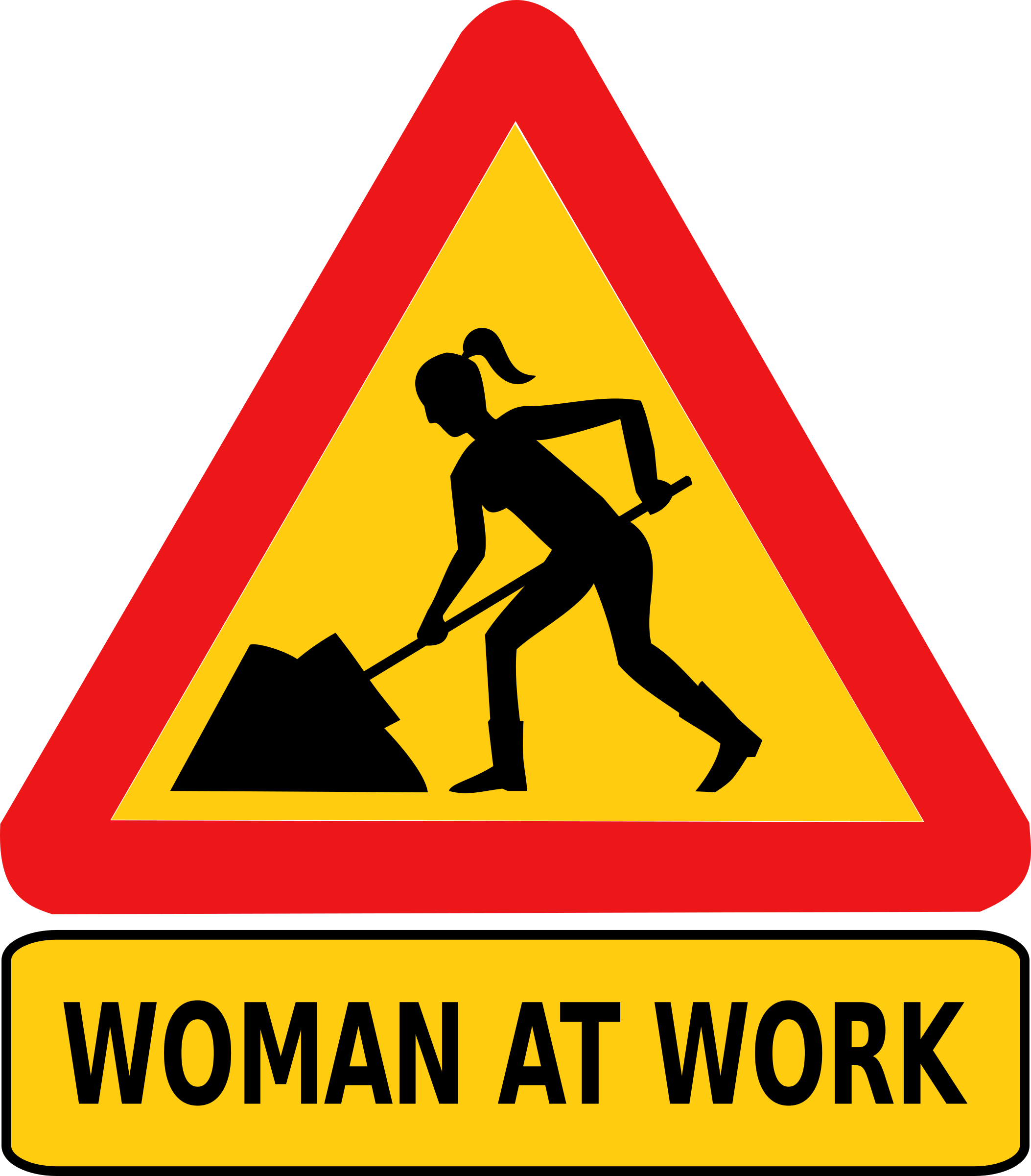 Working clipart woman. At work big image