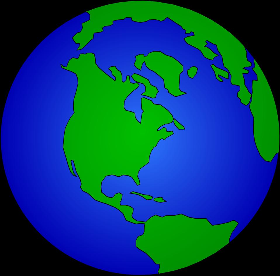 Globe artistic