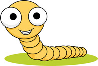 Search results for eyed. Worm clipart big eye