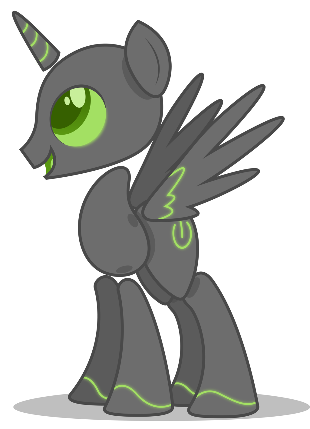 The power of epona. Worm clipart biomass
