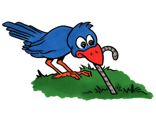 Worm clipart bird. Eating clip art library