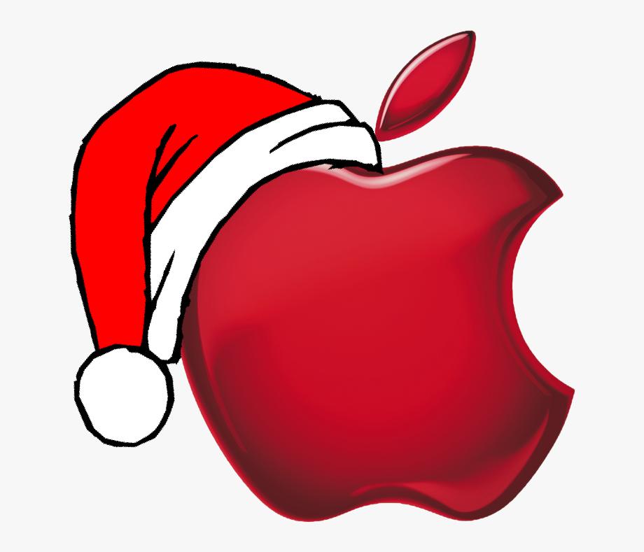 Apple free stock logo. Worm clipart christmas