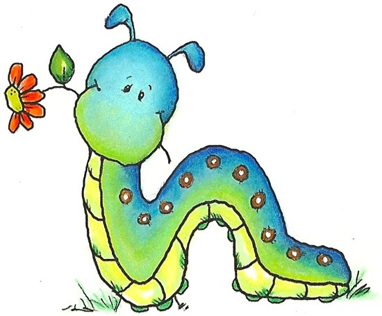 Worm clipart christmas. Cute free download best