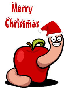 Worms cards zazzle uk. Worm clipart christmas