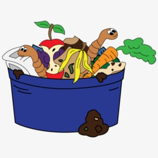 Free composting cliparts silhouettes. Worm clipart compost bin