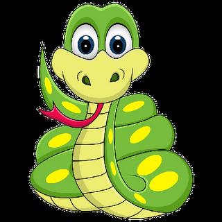 Happy cartoon paintings . Worm clipart cute snake