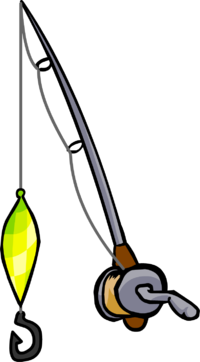 With rod deanlevin info. Worm clipart fishing gear