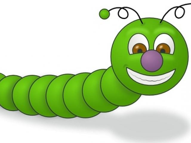Free glow download clip. Worm clipart friendly