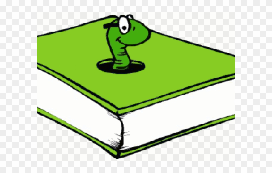 Worms book clip art. Worm clipart green thing