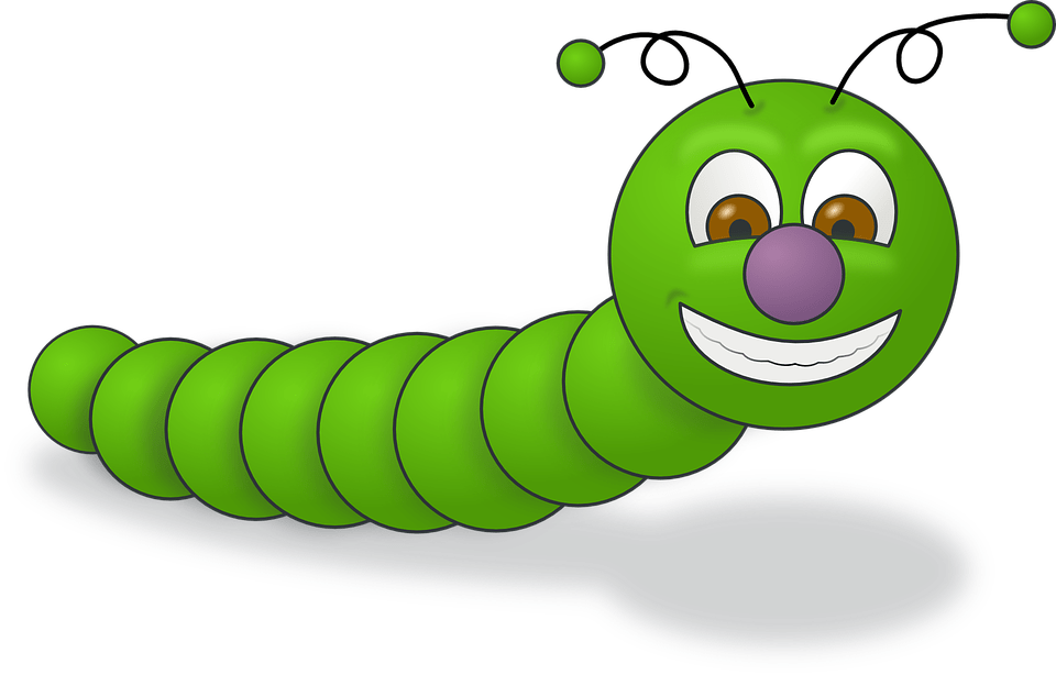 What is a critter. Worm clipart ground