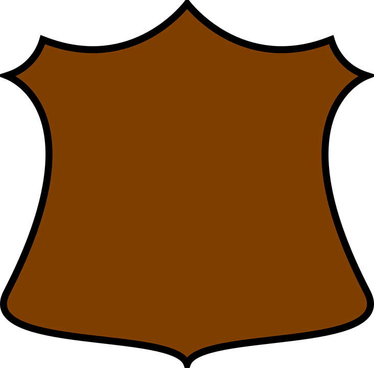 Brown shield free collection. Worm clipart kawaii