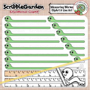 Worm clipart measurement. Measuring worms