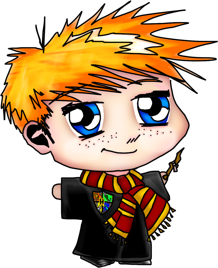 Ron weasley harry potter. Worm clipart pathetic