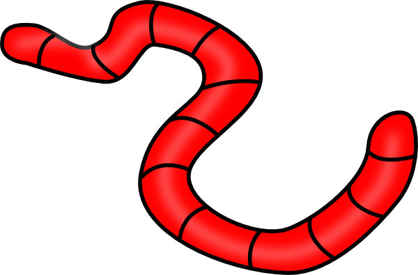 Worm clipart red worm. Earth clip art at