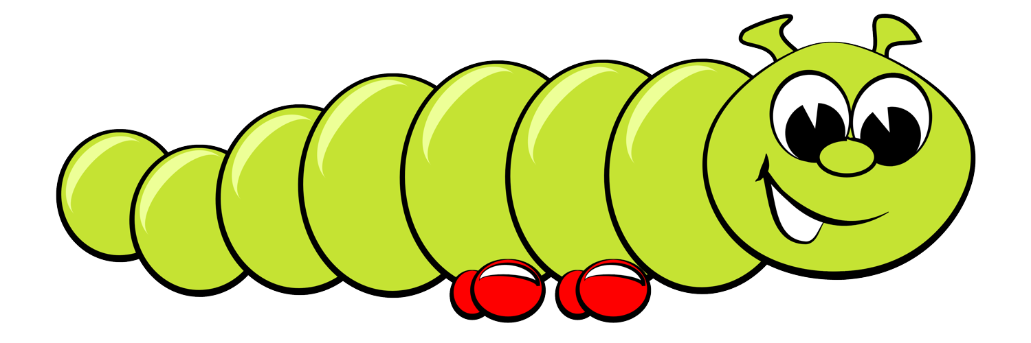 Worm clipart short worm. Read and learn wacko