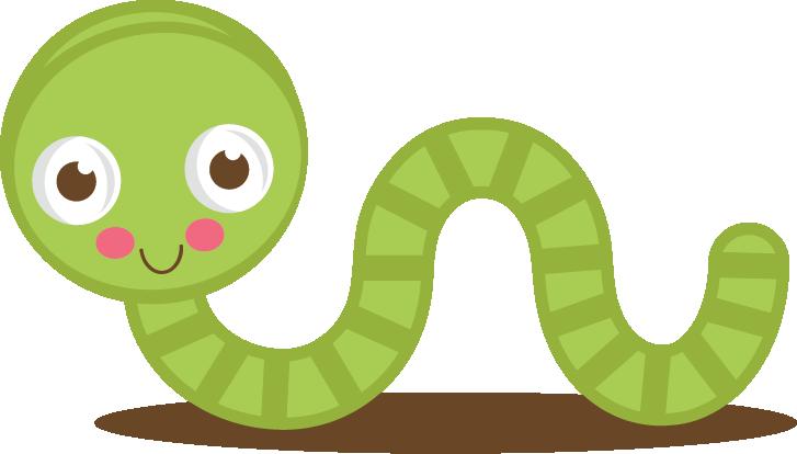Worm clipart svg. Cute green cut files