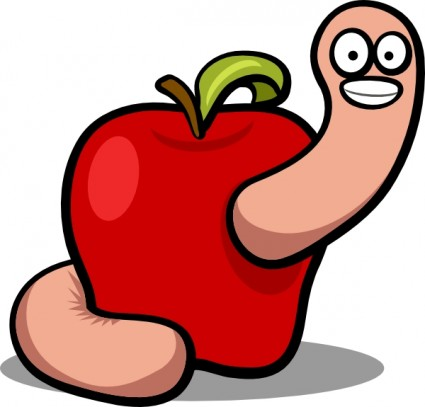 Free worms cliparts download. Worm clipart two