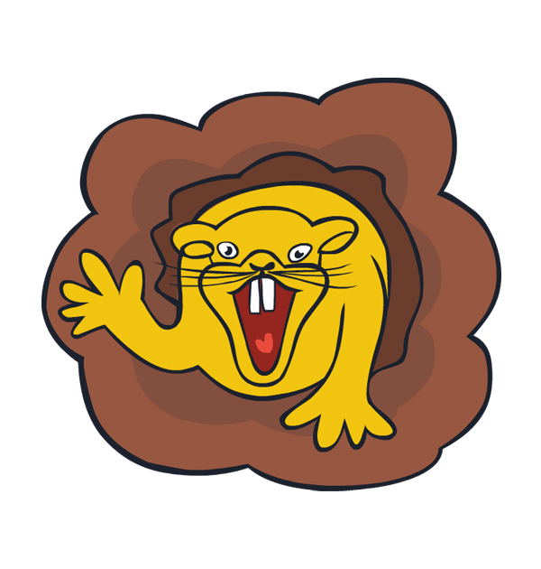 Burrowing rodent clipground clip. Worm clipart underground