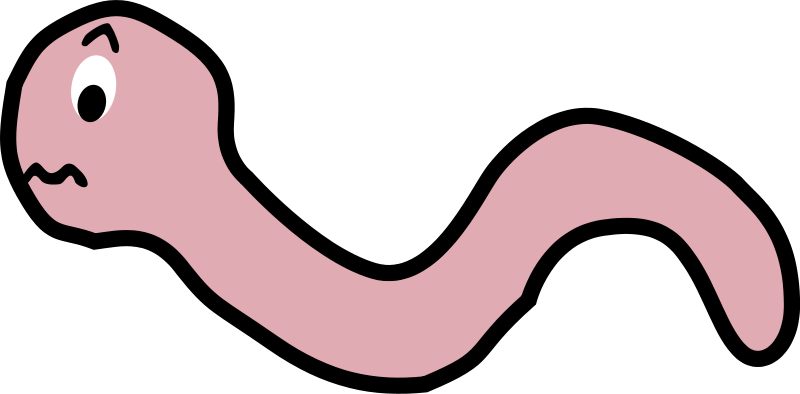 Worm clipart wiggly worm. Pictures of cartoon worms