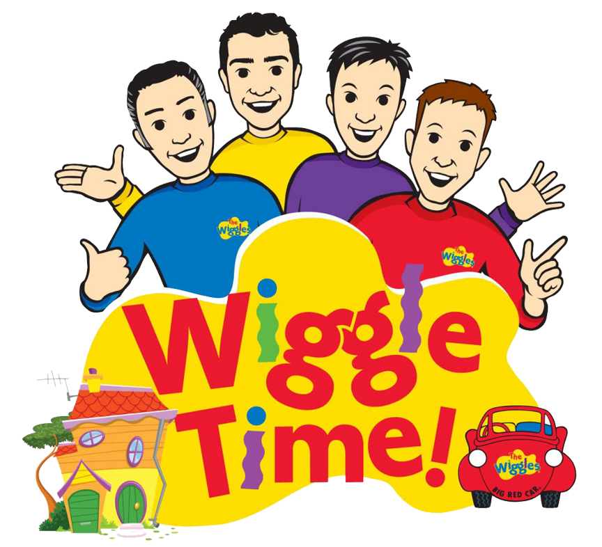 Wiggle time logo. Worm clipart wriggly