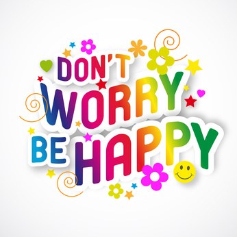 Worry clipart. Dont be happy