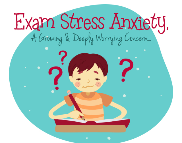 Exam anxiety causes ways. Worry clipart academic stress