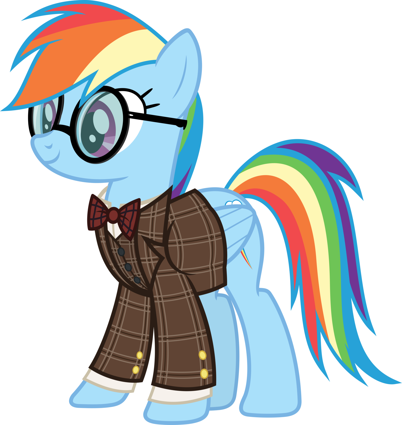Professor rainbow dash by. Worry clipart afflicted
