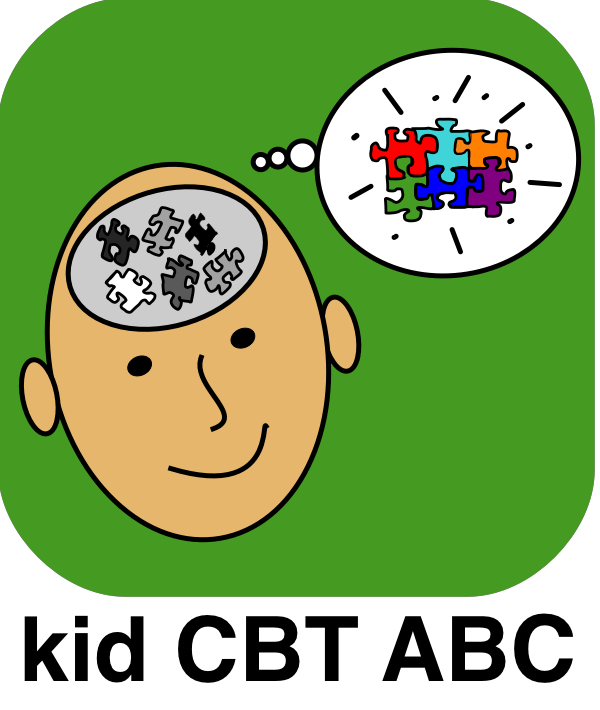 App kid in the. Worry clipart cbt