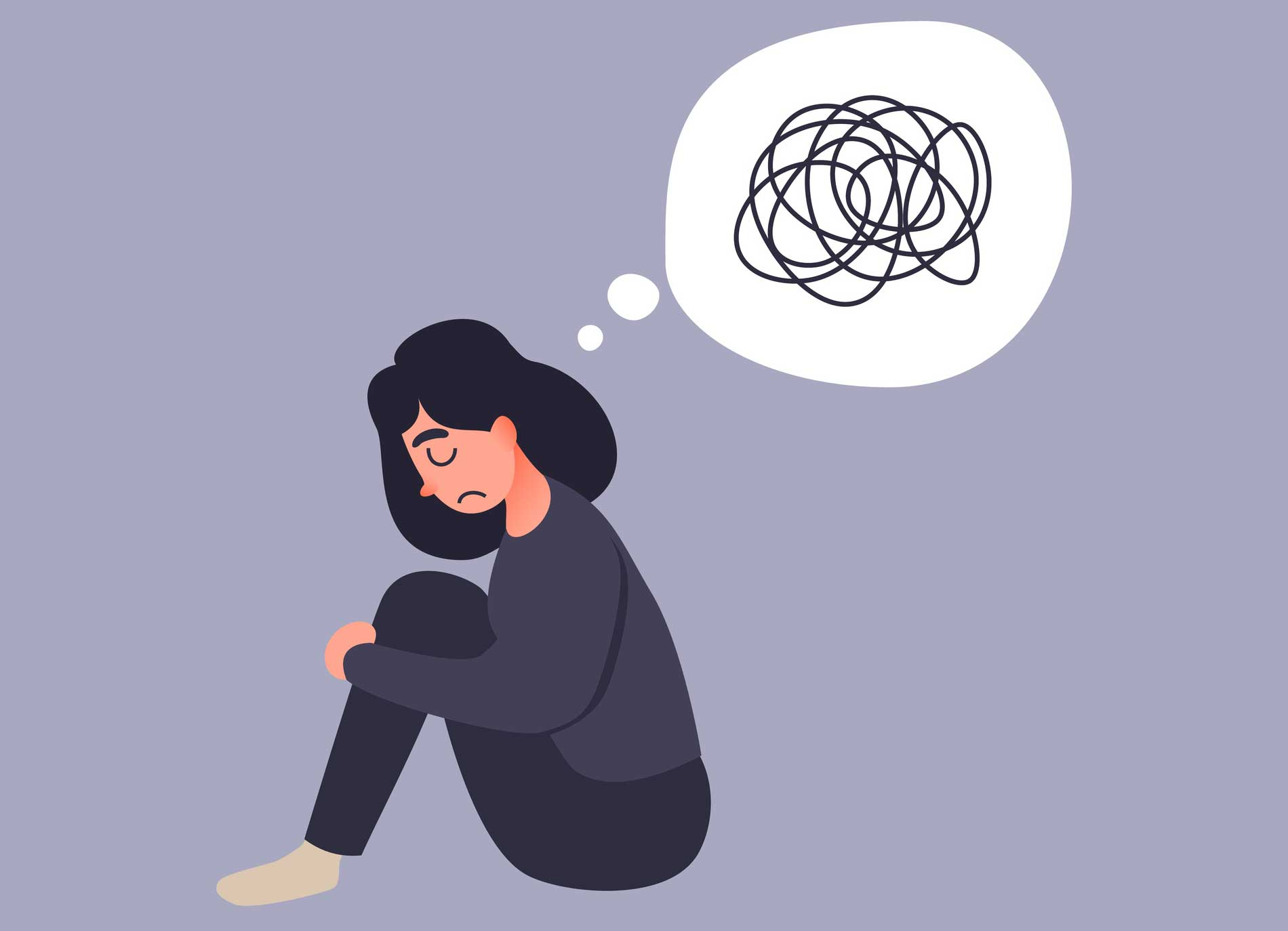 Worry clipart clinical depression. How to deal with