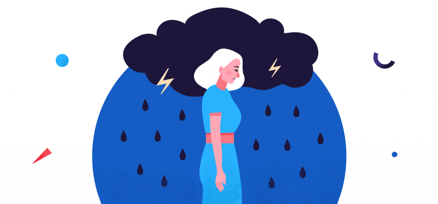 Can curing anxiety be. Worry clipart depression treatment