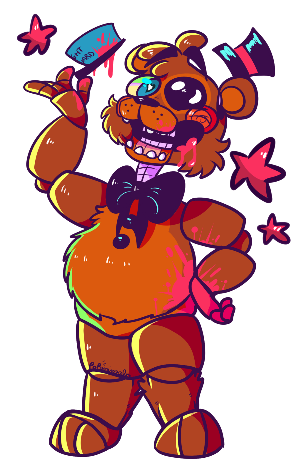 Five nights at freddy. Worry clipart frantic