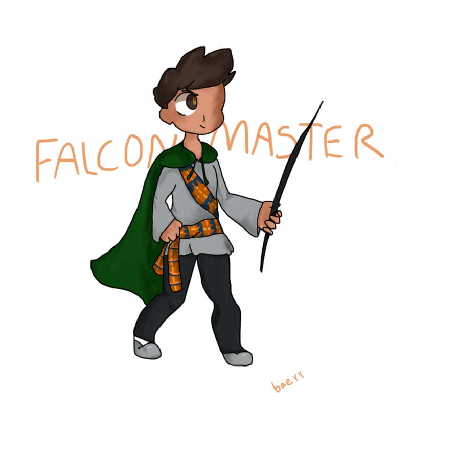 Rollan falconmaster by baerr. Worry clipart frantic