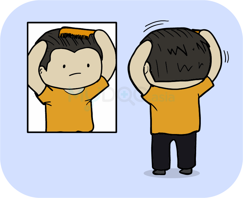 Worry clipart hair loss. Do you have or