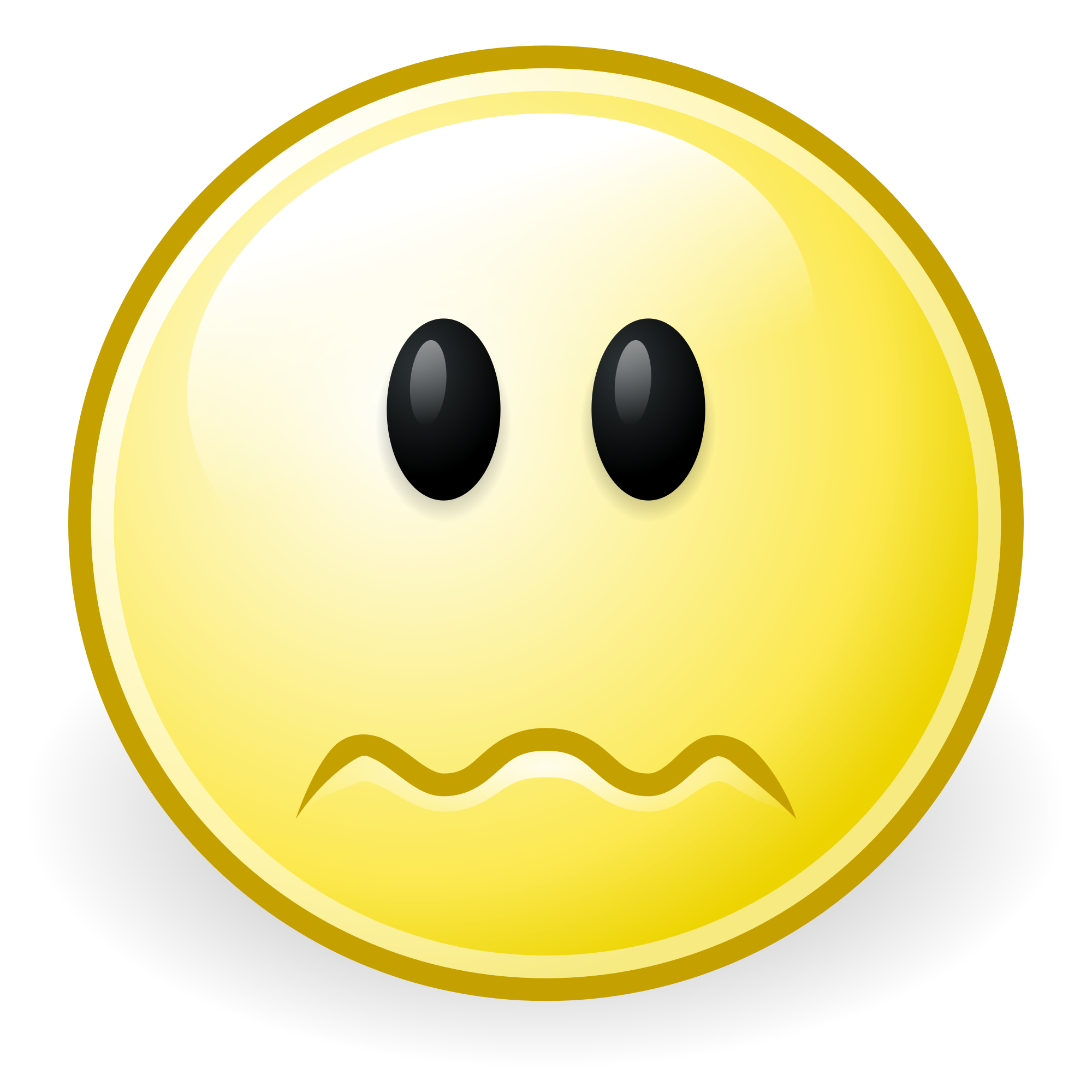 Worried smiley group filegnomefaceworriedsvg. Worry clipart happy face