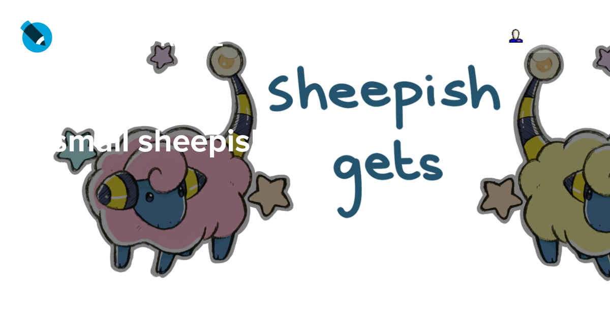A small sheepish update. Worry clipart sheepishly