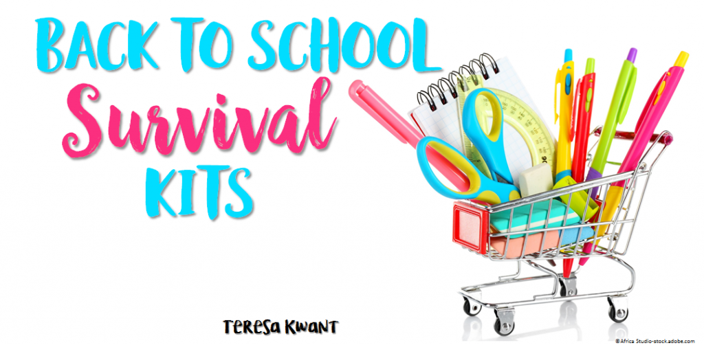 Worry clipart survival item. Back to school kits