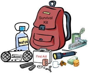 Kits without solar gogreensolar. Worry clipart survival kit