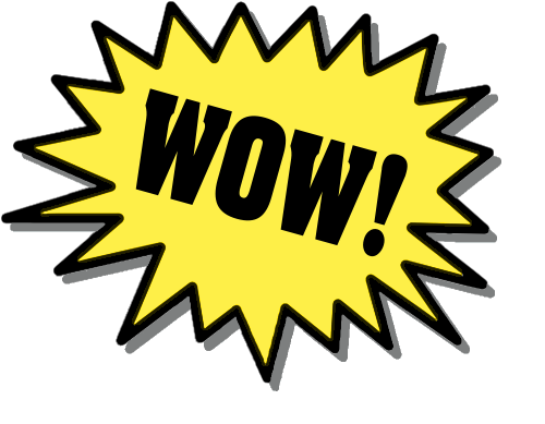 Wow clipart. Free animated