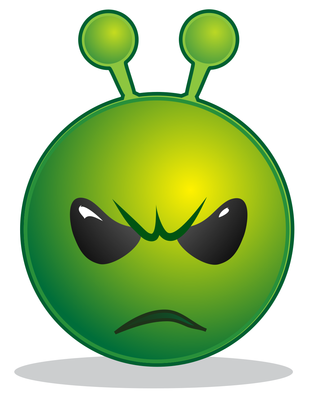 Wow clipart animated. File smiley green alien