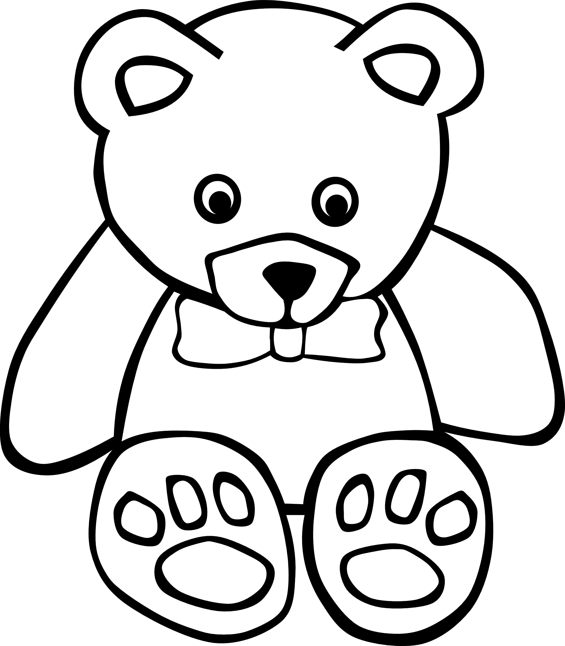 Coloring pages for your. Wow clipart black and white