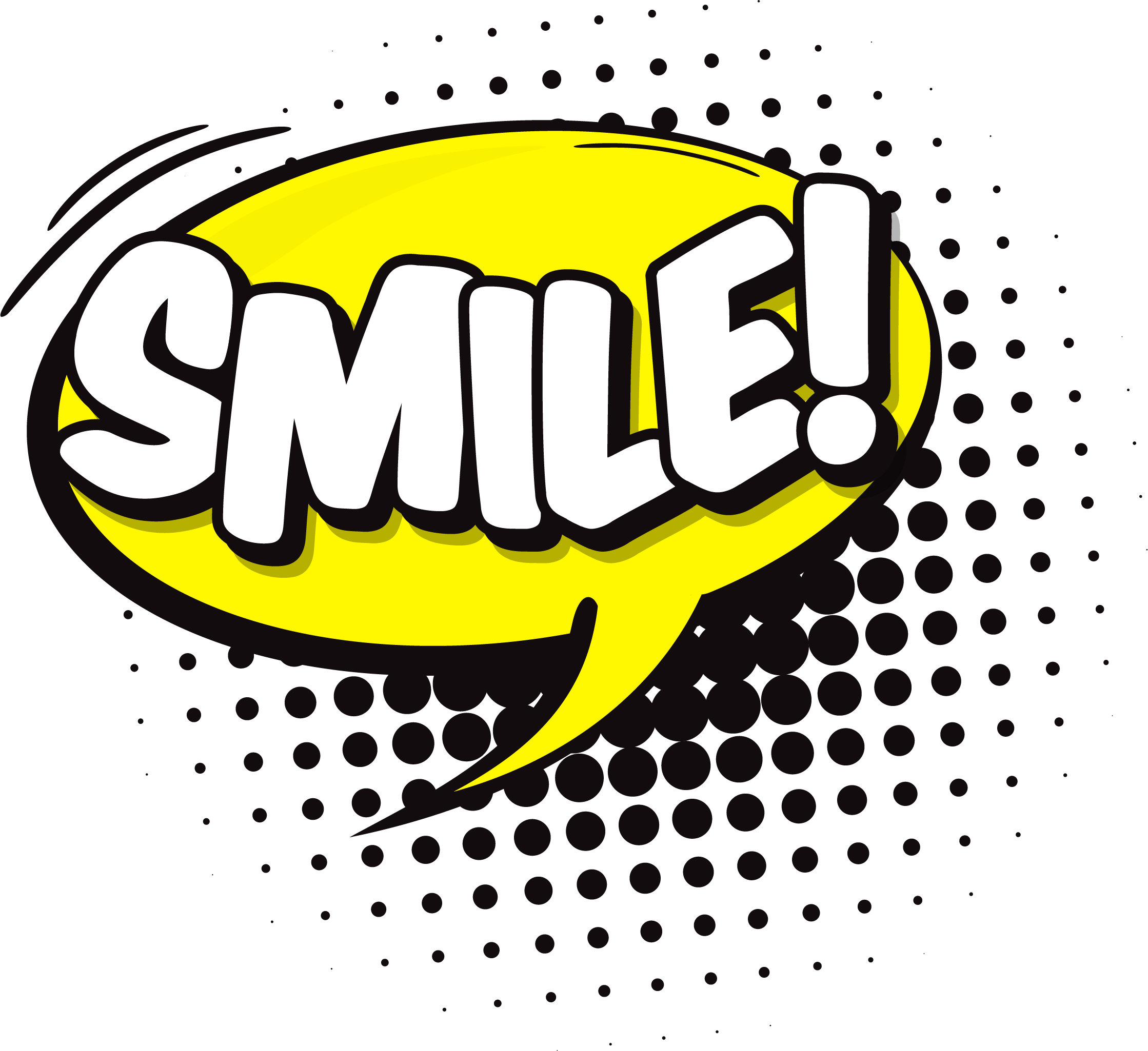 Wow clipart bubble. Smile speech png clipartly