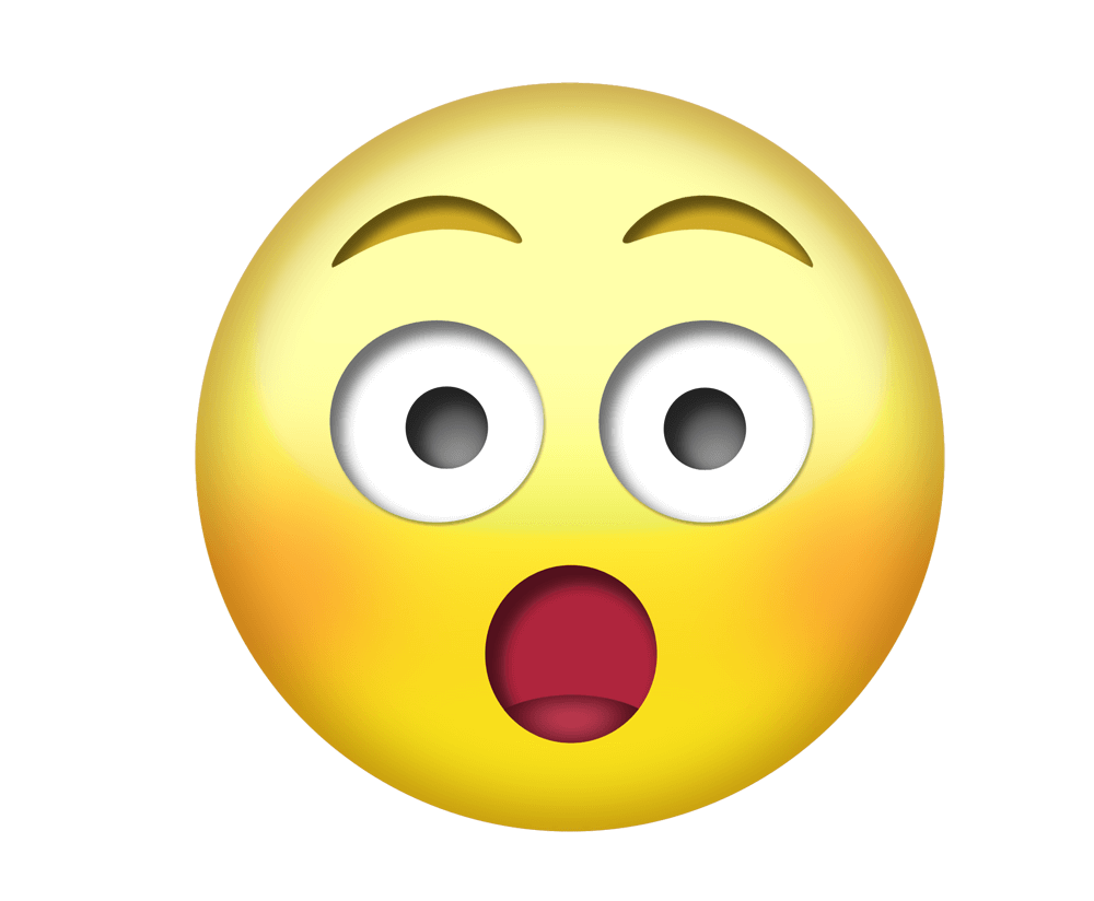 Wow clipart emoji. Png transparent without background